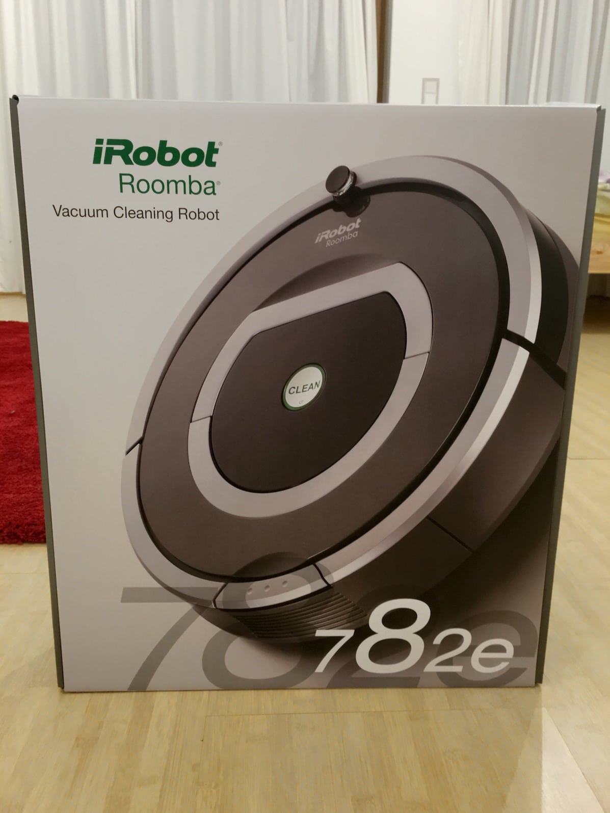 irobot roomba 782 saugroboter verpackung front. Black Bedroom Furniture Sets. Home Design Ideas